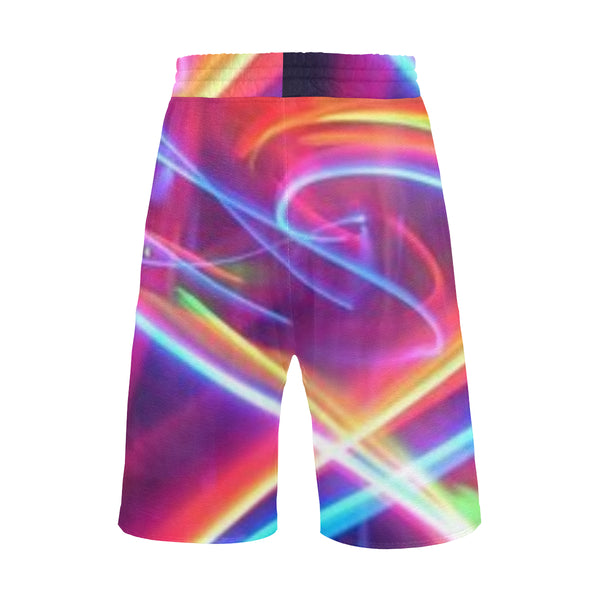 Men's All Over Print Casual Shorts (Model L23) - kdb solution
