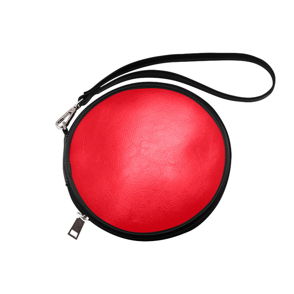 Red Round Makeup Bag (Model 1625) - kdb solution