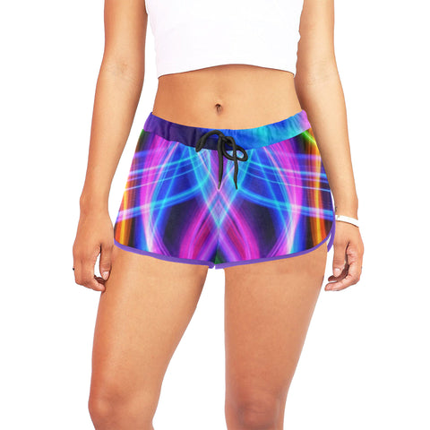 colours Women's All Over Print Relaxed Shorts (Model L19) - kdb solution