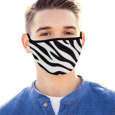 Zebra Mouth Mask - kdb solution