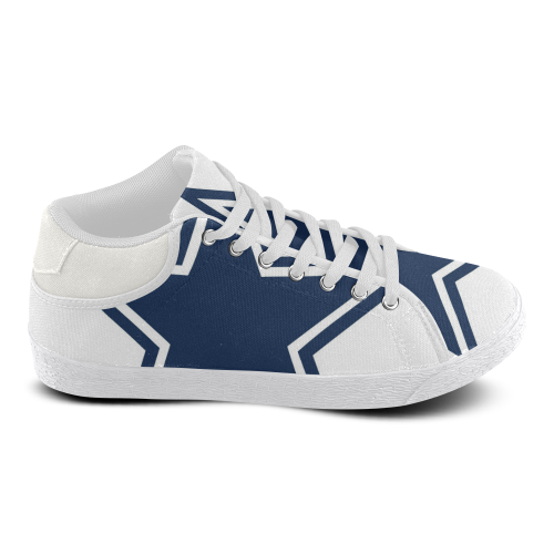Dallas Cowboys Men's Chukka Canvas Shoes (Model 003) - kdb solution