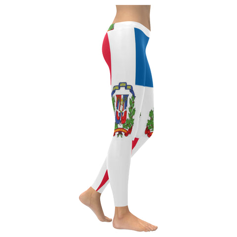 Dominican Republic Low Rise Leggings XXS-XXXXXL - kdb solution