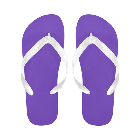 Purple Flip Flops for Men/Women (Model 040) - kdb solution
