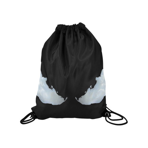 "Venom 4 Medium Drawstring Bag Model 1604 (Twin Sides) 13.8""(W) * 18.1""(H) - kdb solution"