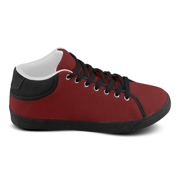 Red Men's Chukka Canvas Shoes (Model 003) - kdb solution