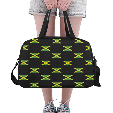 Jamaica Flags Fitness/Overnight bag (Model 1671)