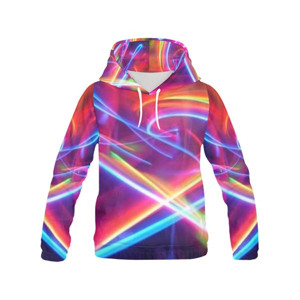 Printed Hoodie for Women (USA Size) (Model H13) - kdb solution