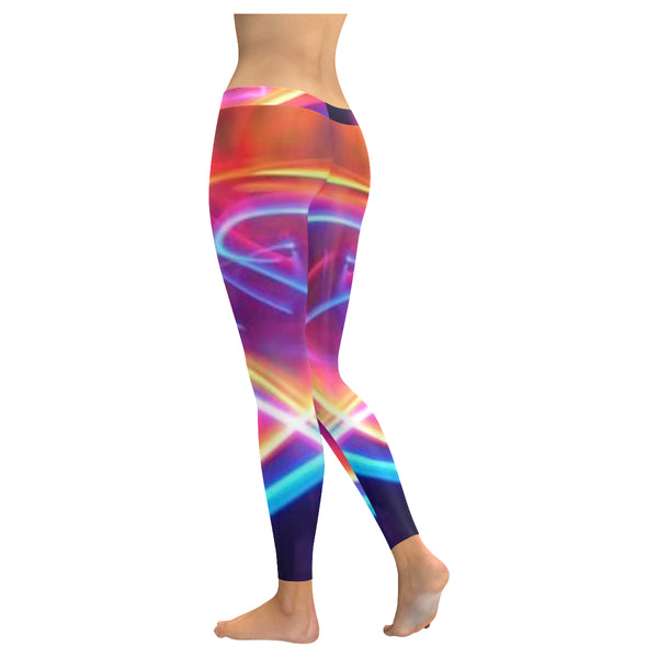 Tie Dye Low Rise Leggings (Invisible Stitch) (Model L05) - kdb solution