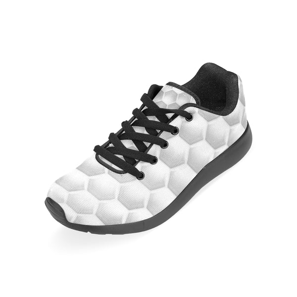 White Honeycomb Men's Running Shoes (Model 020) - kdb solution