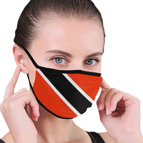 Trinidad flag Mouth Mask - kdb solution