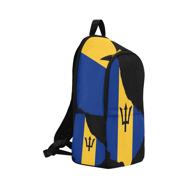 Barbados Island Fabric Backpack (Model 1659) - kdb solution