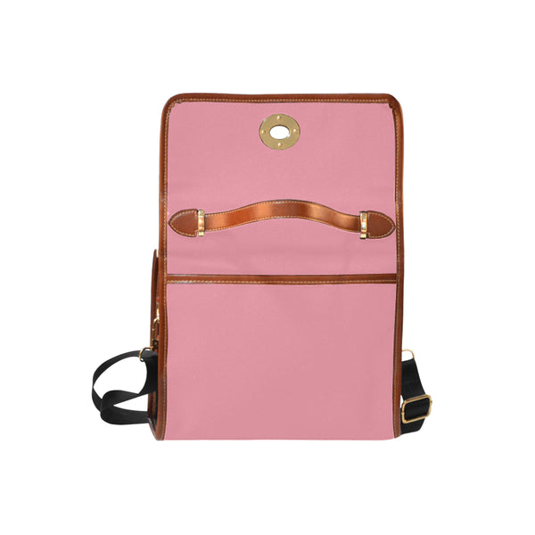 Light Pink Waterproof Canvas Bag/All Over Print (Model 1641) - kdb solution