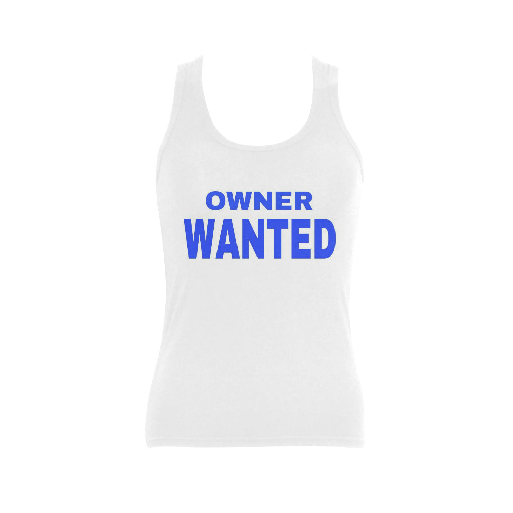 Owner Wanted Women's Shoulder-Free Tank Top (Model T35) - kdb solution