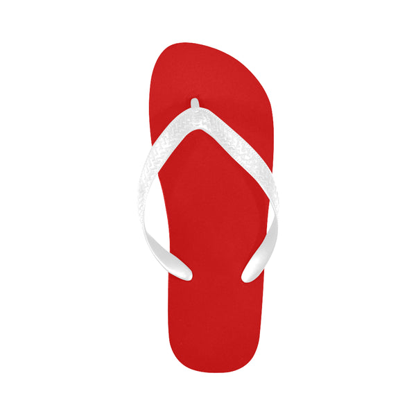 Red Flip Flops for Men/Women (Model 040) - kdb solution