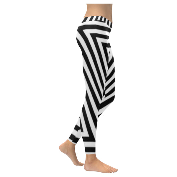 Zig Zag/ Zebra Low Rise Leggings XXS-XXXXXL
