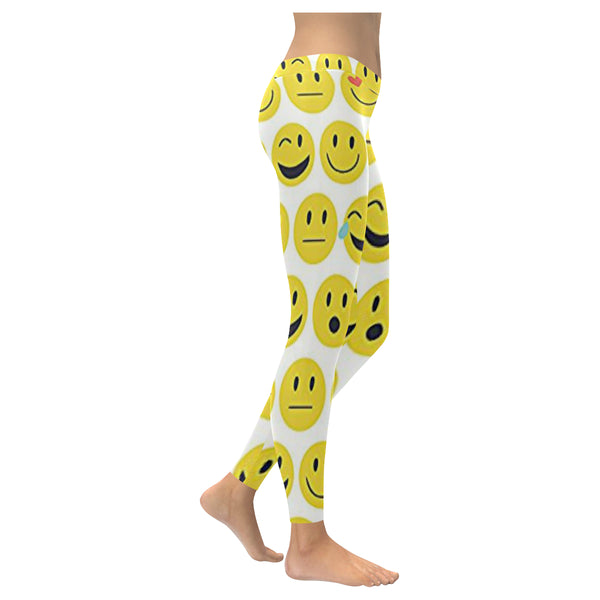 Emoji 2 Low Rise Leggings (Model L05) XXS-XXXXXL - kdb solution