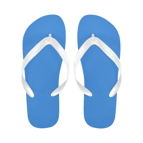 Light blue Flip Flops for Men/Women (Model 040) - kdb solution