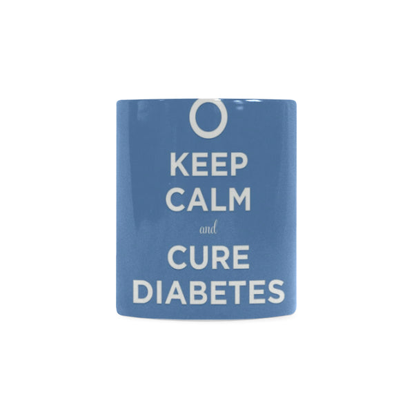 Keep Calm Diabetes White Mug(11OZ) - kdb solution