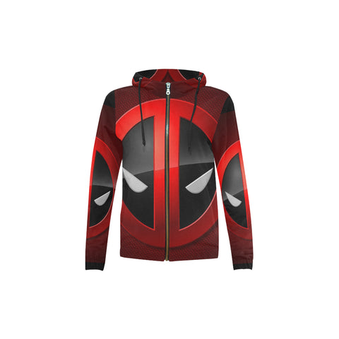 Deadpool mask All Over Print Full Zip Hoodie for Kid (Model H14) - kdb solution