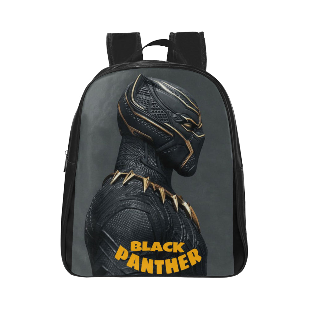 Black Panther Bold School Backpack (Model 1601)(Small) - kdb solution
