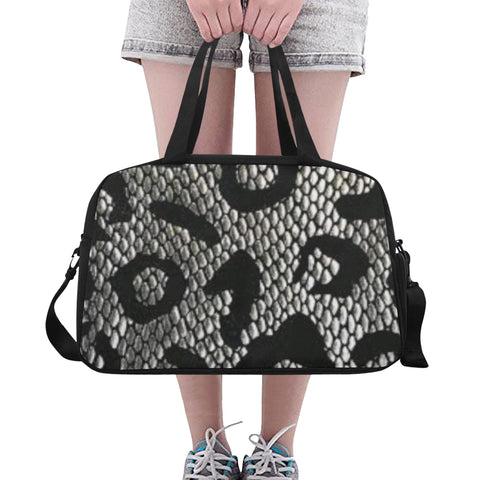 Snake Print Fitness/overnight bag (Model 1671)