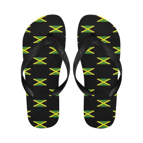 Jamaica flags Flip Flops for Men/Women (Model 040) - kdb solution