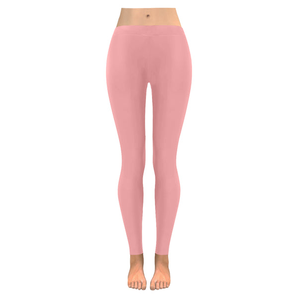 Pink Low Rise Leggings (Model L05) XXS-XXXXXL - kdb solution