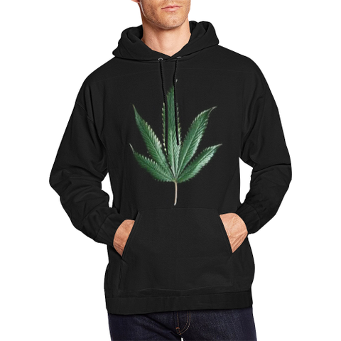 Weed 1 All Over Print Hoodie for Men (USA Size) (Model H13)