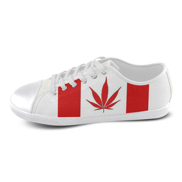 Womens Marijuana Canvas Shoes\'s