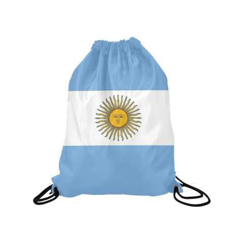 "Argentina Medium Drawstring Bag Model 1604 (Twin Sides) 13.8""(W) * 18.1""(H) - kdb solution"