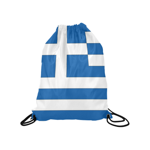 "Greece Medium Drawstring Bag Model 1604 (Twin Sides) 13.8""(W) * 18.1""(H) - kdb solution"