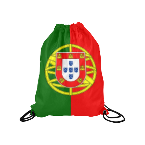 "Portugal Medium Drawstring Bag Model 1604 (Twin Sides) 13.8""(W) * 18.1""(H) - kdb solution"