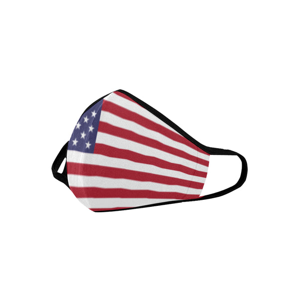 USA flag Mouth Mask - kdb solution