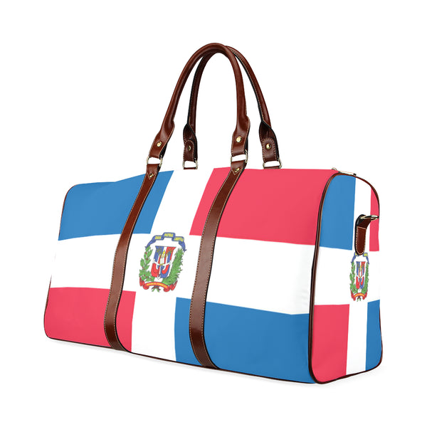 Dominican Republic Waterproof Travel Bag/Small (Model 1639) - kdb solution