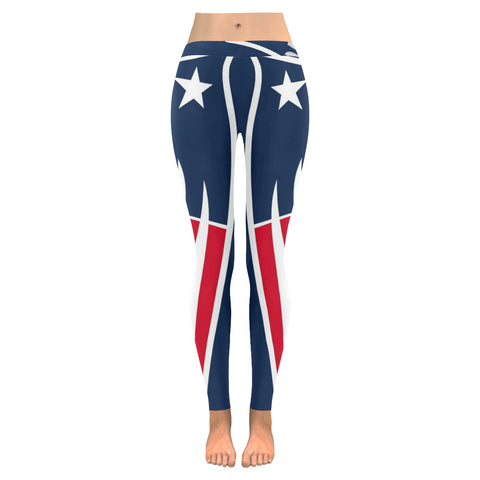 Patriots Low Rise Leggings (Model L05) XXS-XXXXXL