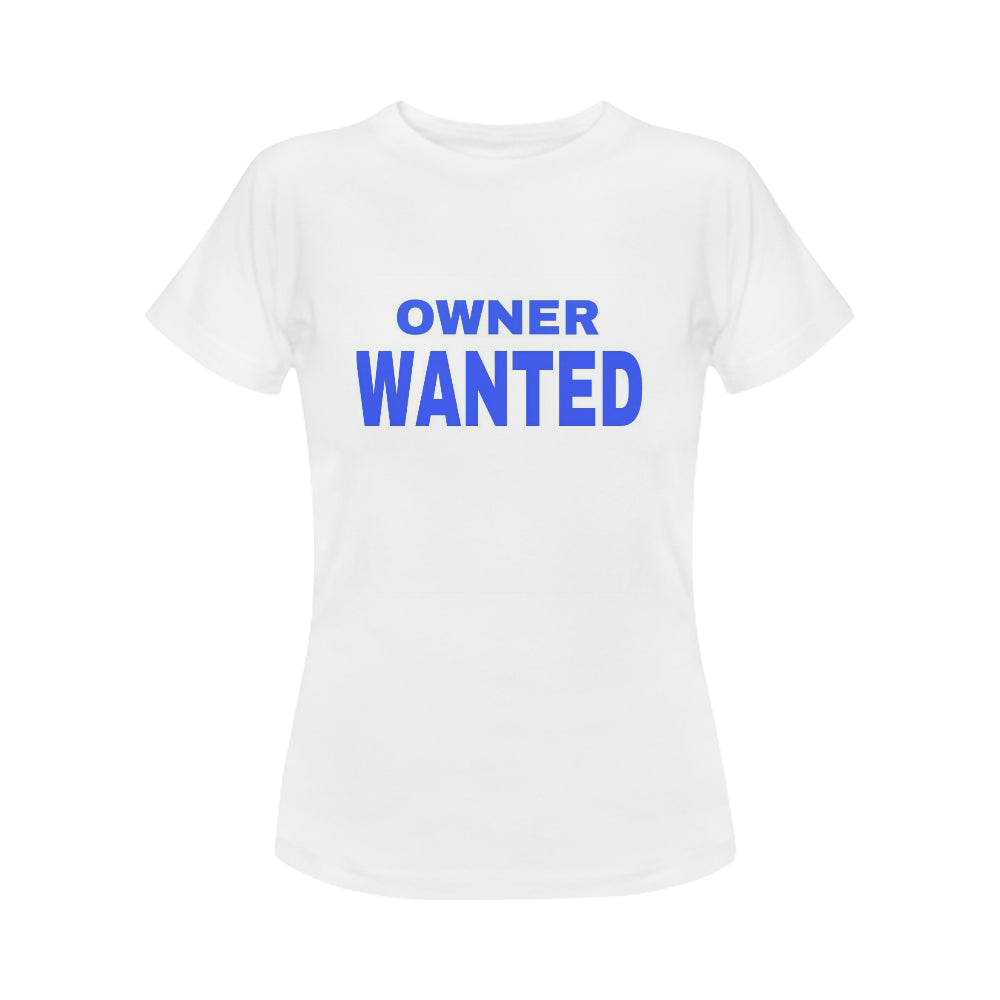 Owner Wanted Women's Classic T-Shirt (Model T17)