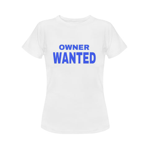 Owner Wanted Women's Classic T-Shirt (Model T17) - kdb solution