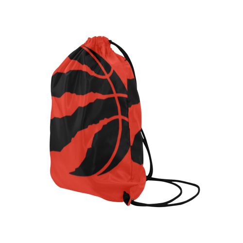"Raptors 2 Medium Drawstring Bag Model 1604 (Twin Sides) 13.8""(W) * 18.1""(H) - kdb solution"