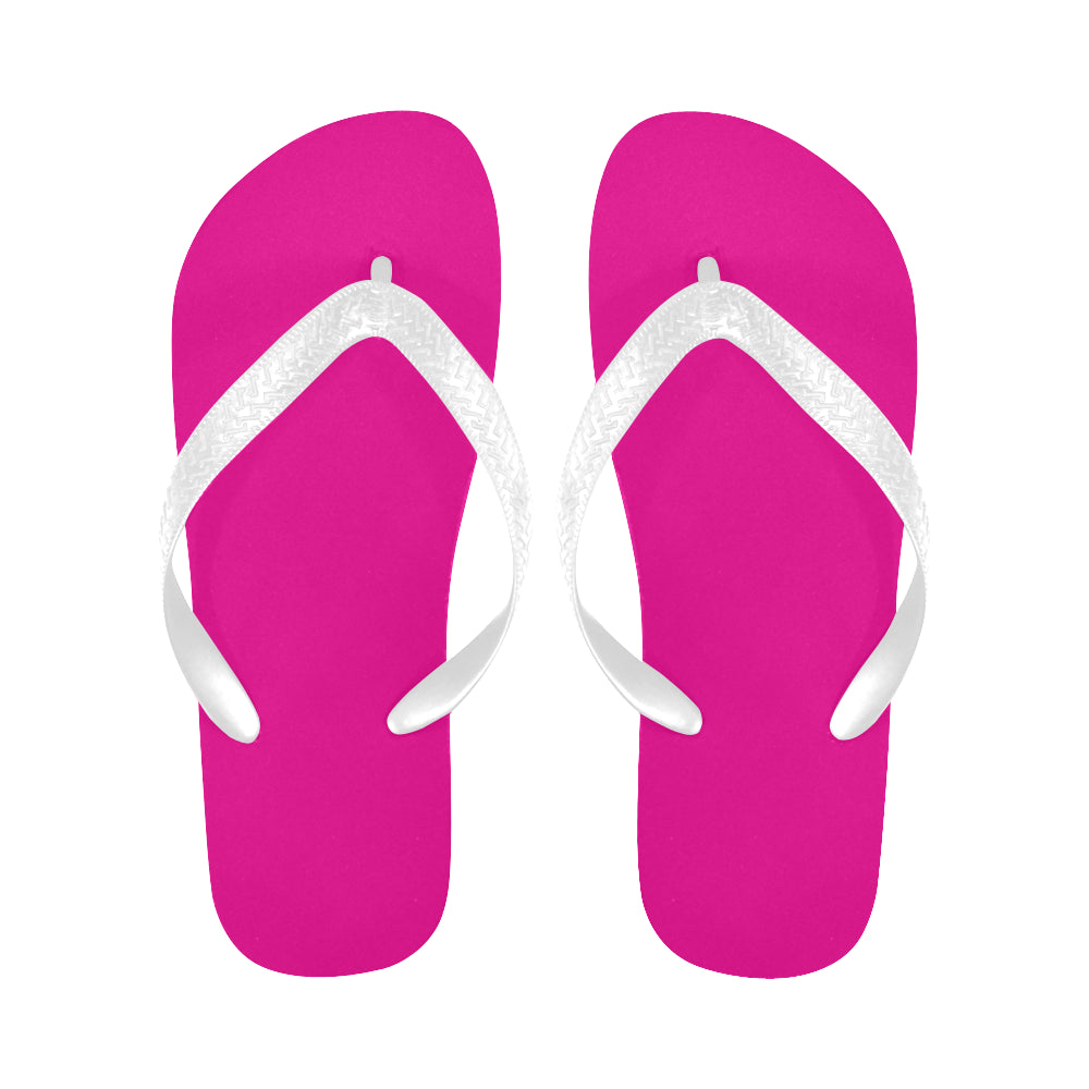 Pink Flip Flops for Men/Women (Model 040) - kdb solution
