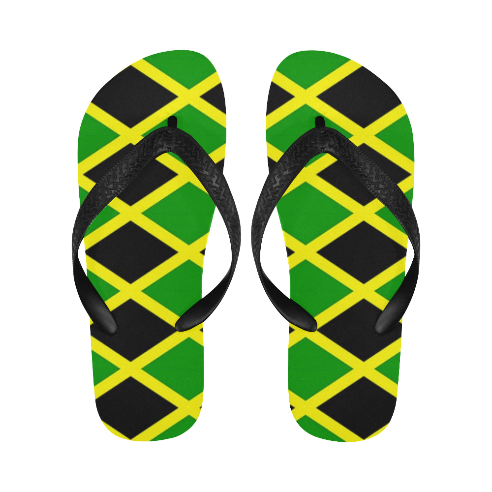 Jamaica tile Flip Flops for Men/Women (Model 040) - kdb solution