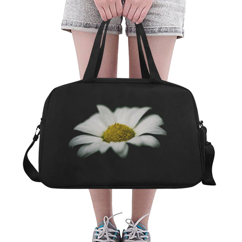 White Flower Fitness/Overnight bag (Model 1671) - kdb solution