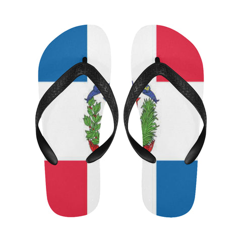 Dominican Republic Flip Flops for Men/Women (Model 040) - kdb solution