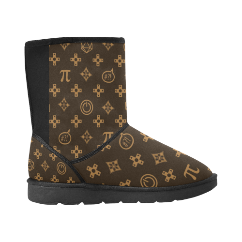 Designer Custom High Top Unisex Snow Boots (Model 047) - kdb solution