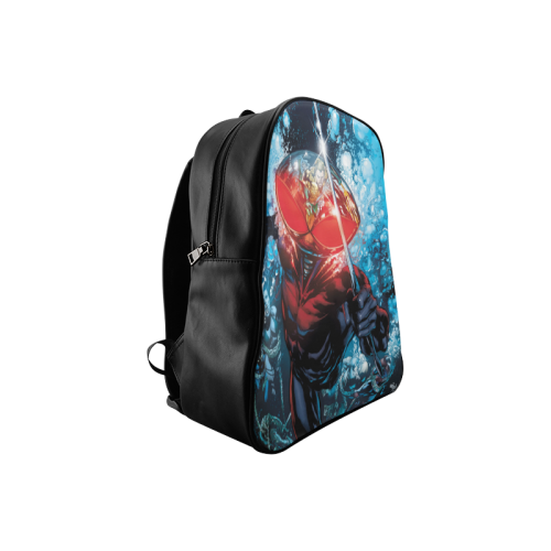 Black Manta 2 School Backpack/Large (Model 1601) - kdb solution