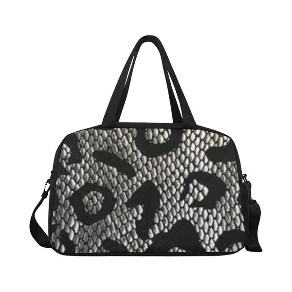 Snake Print Fitness/overnight bag (Model 1671) - kdb solution