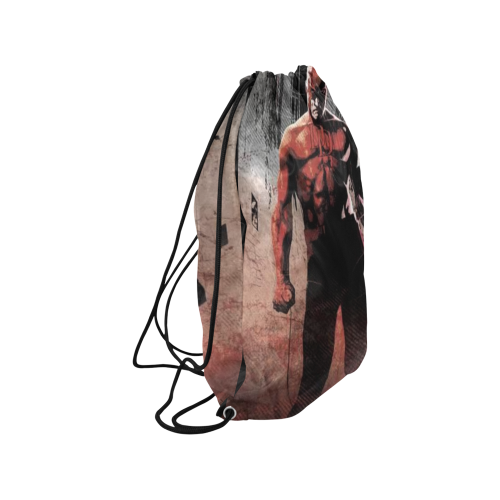 "Daredevil 3 Medium Drawstring Bag Model 1604 (Twin Sides) 13.8""(W) * 18.1""(H) - kdb solution"