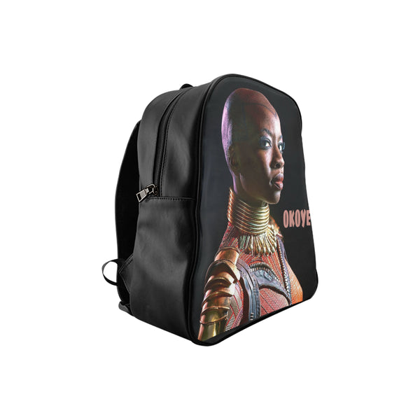 Okoye School Backpack (Model 1601)(Small) - kdb solution