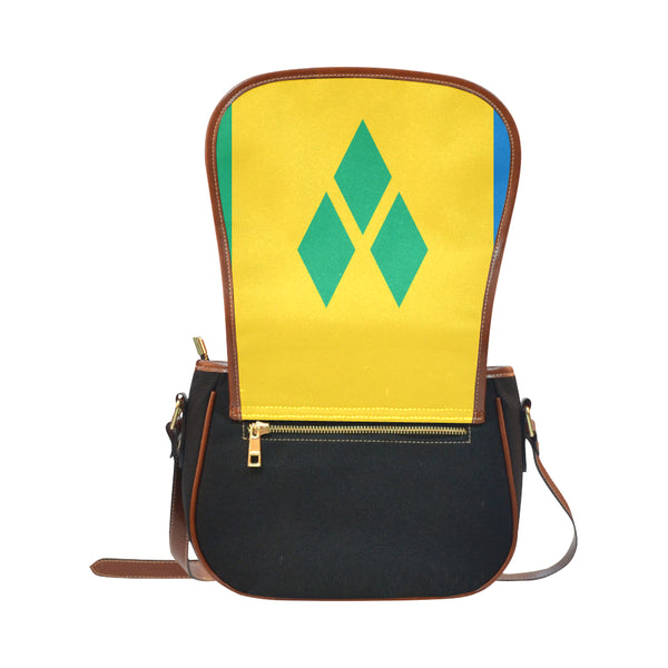 St vincent Saddle Bag/Small (Model 1649)(Flap Customization) - kdb solution