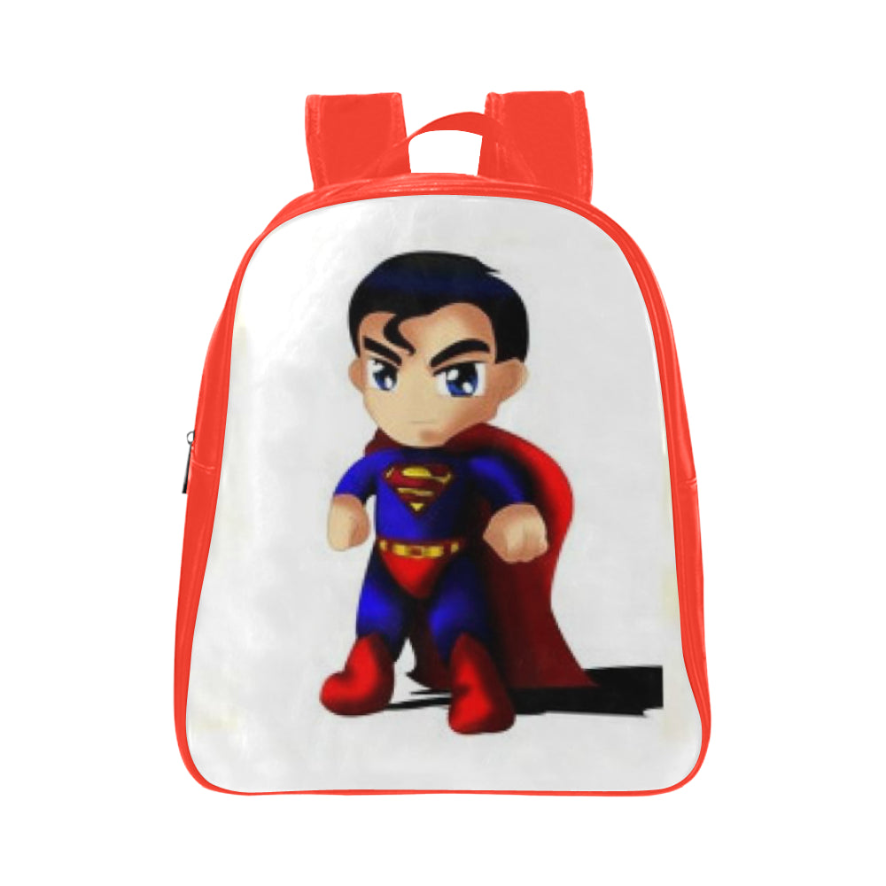 Superman School Backpack (Model 1601)(Small) - kdb solution
