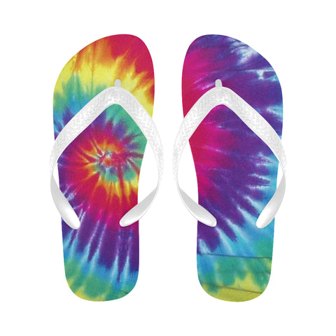 Tye Dye Flip Flops for Men/Women (Model 040)
